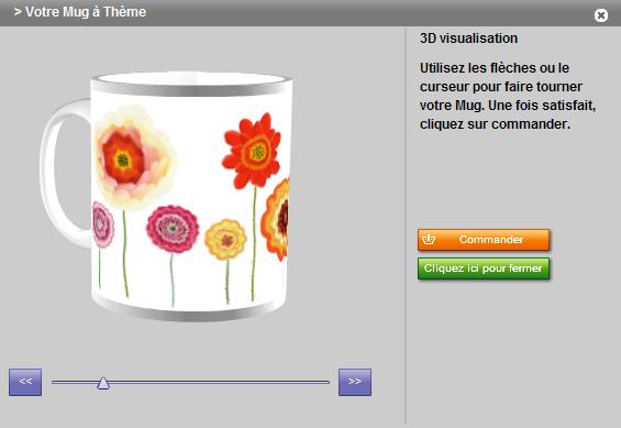 rendu 3D proposé par le logiciel en ligne du labo qui m'a offert cette tasse